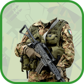 Army Photo Frame Maker icon