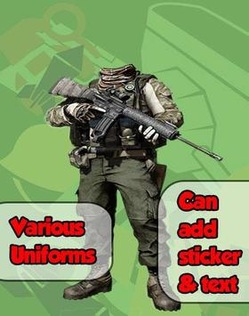 Army Photo Frame Maker poster