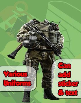 Army Photo Frame Maker screenshot 1