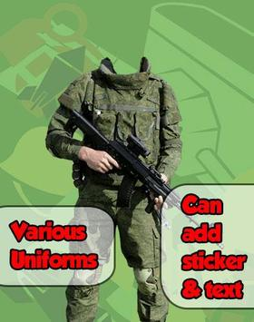 Army Photo Frame Maker screenshot 2