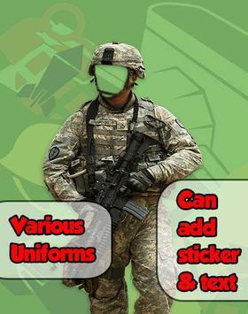 Army Photo Frame Maker screenshot 6