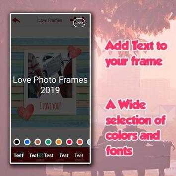 Love Photo Frame 2019 screenshot 5