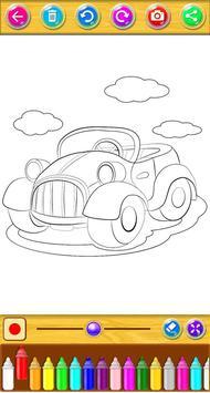 Cars Coloring Book screenshot 7