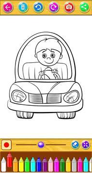 Cars Coloring Book screenshot 5
