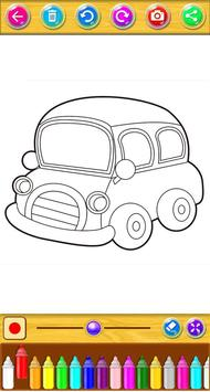 Cars Coloring Book screenshot 6