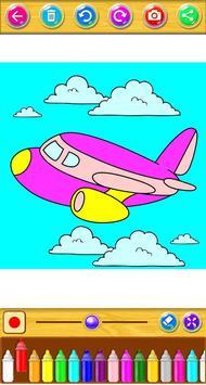 Planes Coloring Book screenshot 1