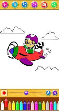 Planes Coloring Book screenshot 2