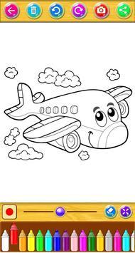Planes Coloring Book screenshot 5