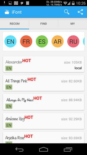 iFont(Expert of Fonts) for Android - APK Download