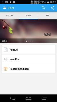 iFont(Expert of Fonts) screenshot 1