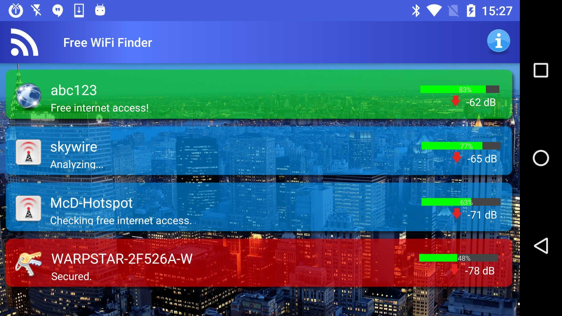 Free WiFi Internet Finder for Android - APK Download