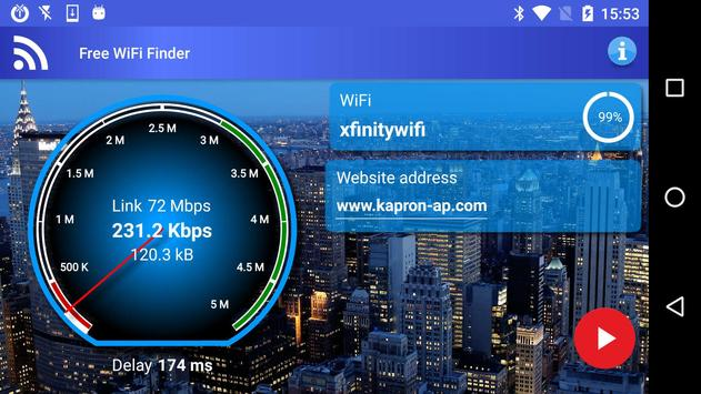 Free WiFi Internet Finder screenshot 11