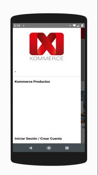Kommerce MX screenshot 1