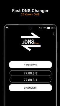 Fast DNS Changer (No Root) screenshot 1