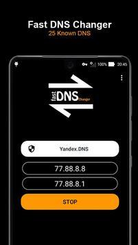 Fast DNS Changer (No Root) screenshot 2