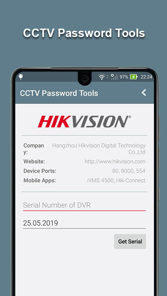 CCTV Password Tools for Android - APK Download