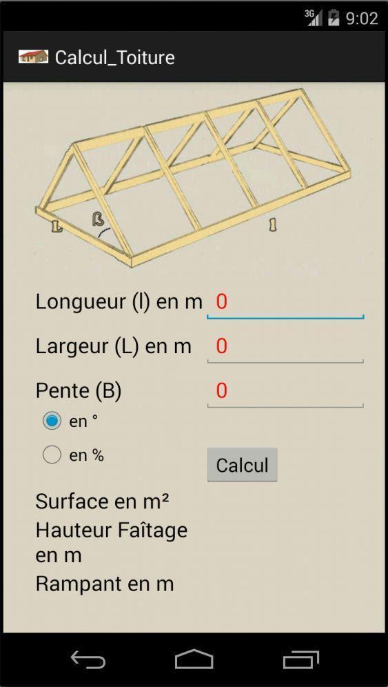 Calcul De Surface De Toiture For Android Apk Download