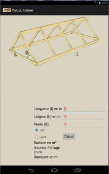 Calcul de surface de toiture screenshot 2
