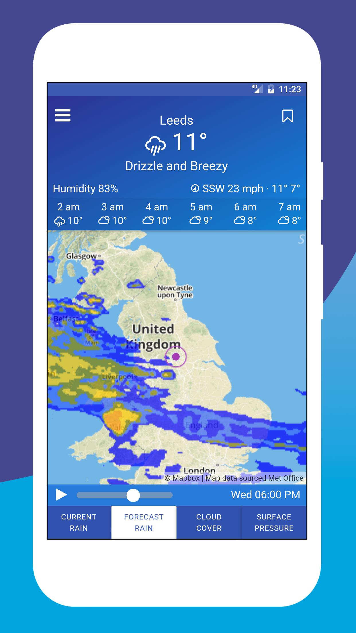 Map Of Uk Weather.Uk Weather Maps For Android Apk Download