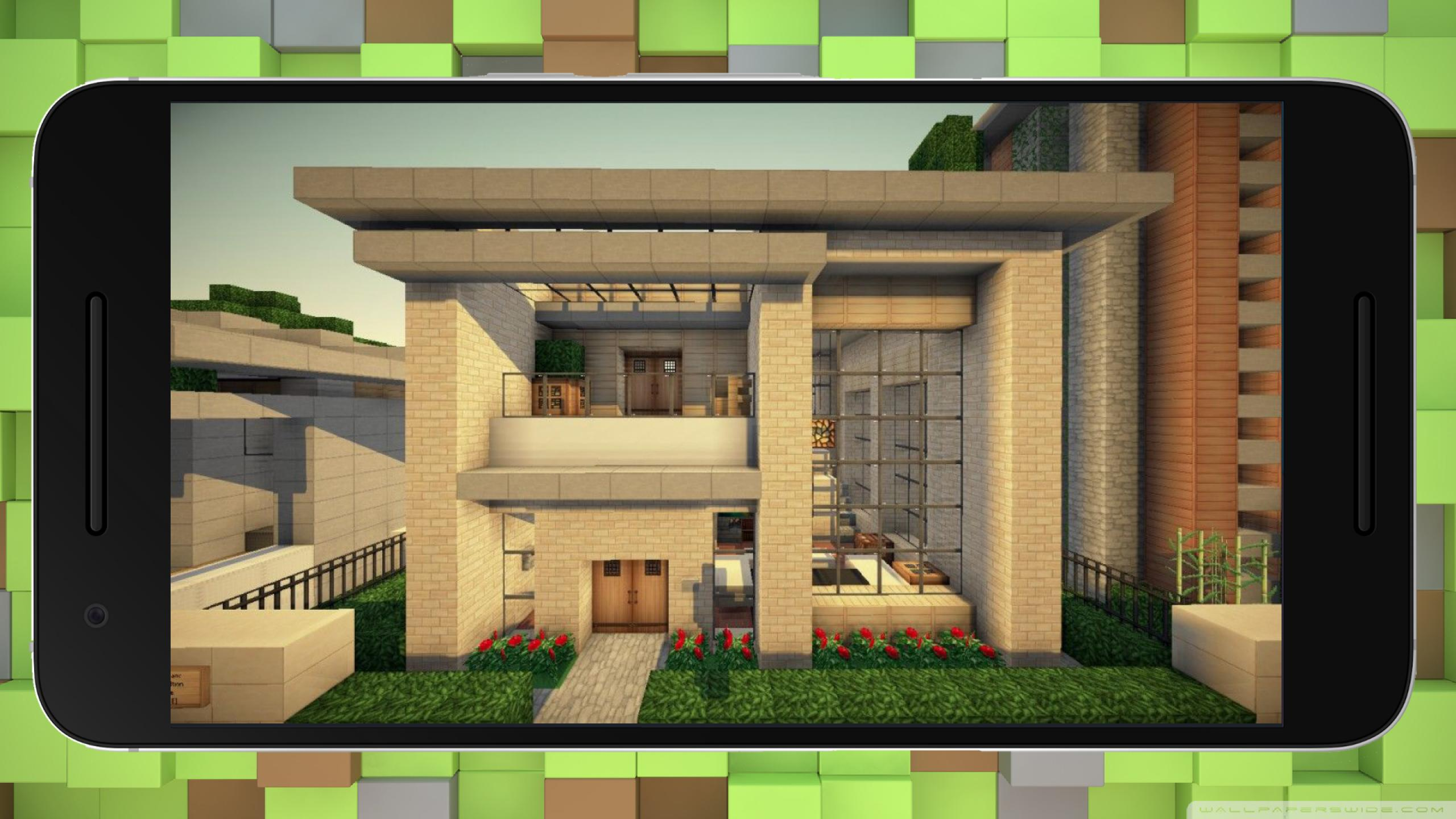 Big Modern Houses For Minecraft For Android Apk Download
