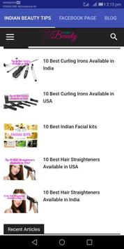 Indian Beauty Tips poster