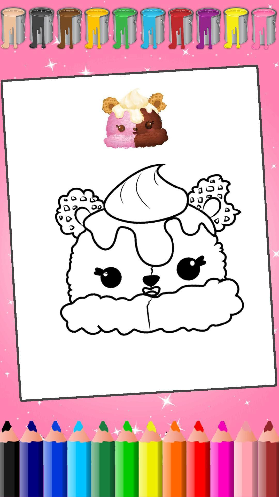 Kawaii Coloring Cute Coloring Pages For Android Apk Download