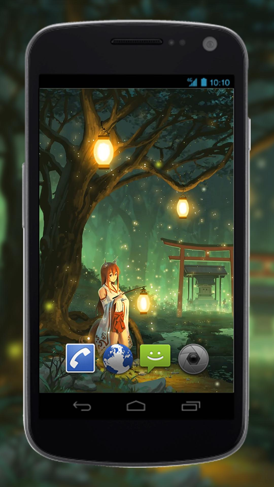 Anime Fan Wallpaper Of Miko Fox For Android Apk Download