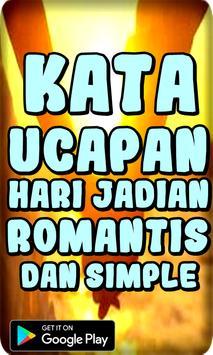 Kata Ucapan Hari Jadian Romantis dan Simple screenshot 1