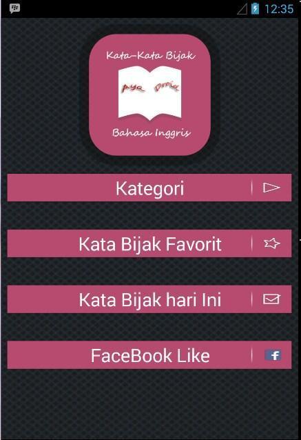 Kata Bijak Bahasa Inggris For Android Apk Download