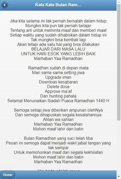 Kata-Kata Bulan Ramadhan screenshot 1
