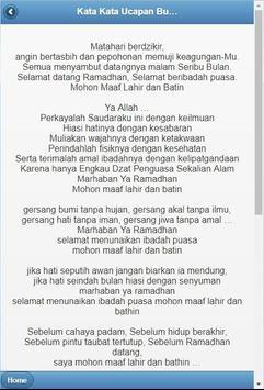 Kata-Kata Bulan Ramadhan screenshot 3