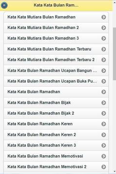 Kata-Kata Bulan Ramadhan screenshot 5