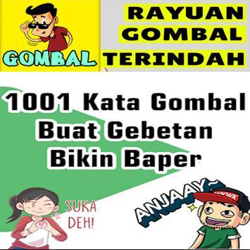1001 Kata Gombal Romantis Bikin Baper poster