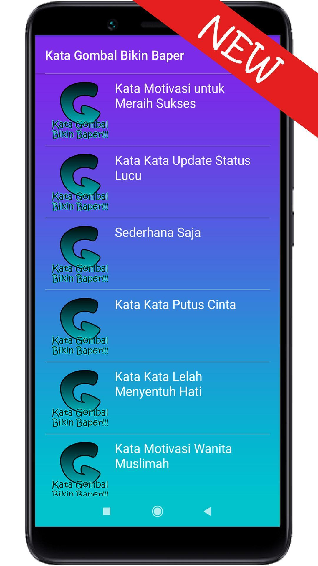 Kata Gombal Bikin Baper For Android Apk Download
