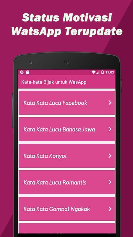Kata Kata Bijak Watsapp Motivasi Für Android Apk Herunterladen