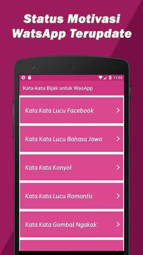 Download Kata Kata Bijak Watsapp Motivasi Latest 12 Android Apk