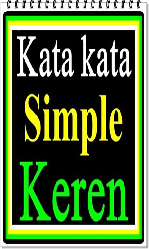Kata Simple Tapi Keren For Android Apk Download
