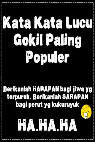 Kata Kata Lucu Gokil Paling Populer For Android Apk Download