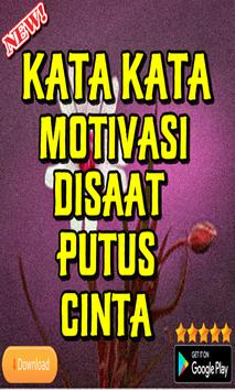 kata Kata Motivasi Disaat Putus Cinta poster