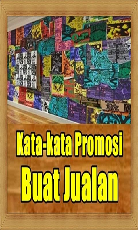 Kata Kata Promosi Buat Jualan For Android Apk Download