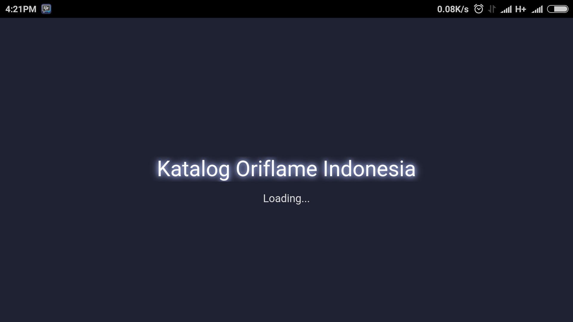 Oriflame Katalog ID3 poster