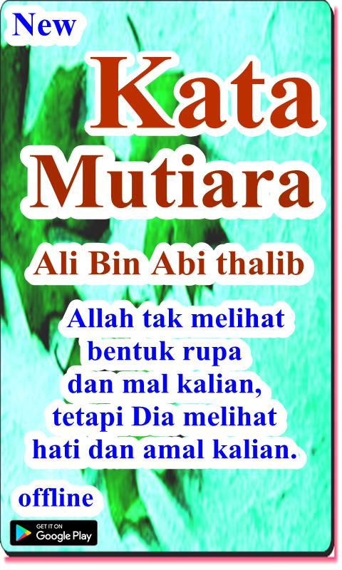 Kata Mutiara Ali Bin Abi Thalib For Android Apk Download