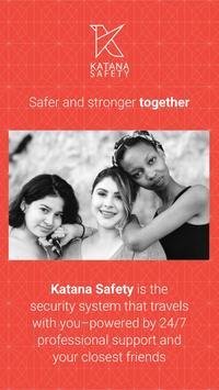 Katana Safety Cartaz