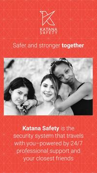 Katana Safety plakat