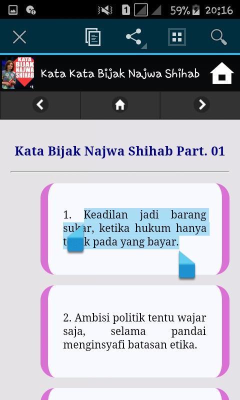 Kata Kata Bijak Najwa Shihab Für Android Apk Herunterladen