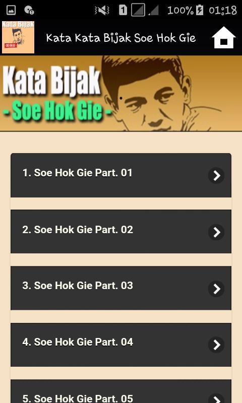 Kata Kata Bijak Soe Hok Gie For Android Apk Download