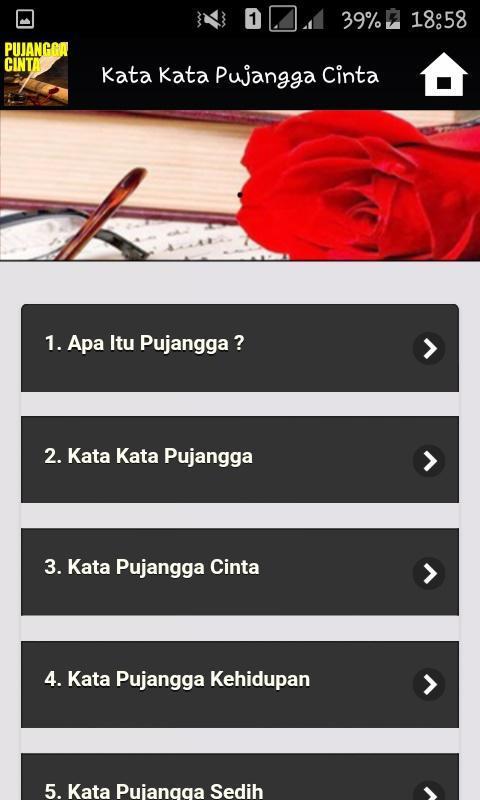 Kata Kata Pujangga Cinta For Android Apk Download