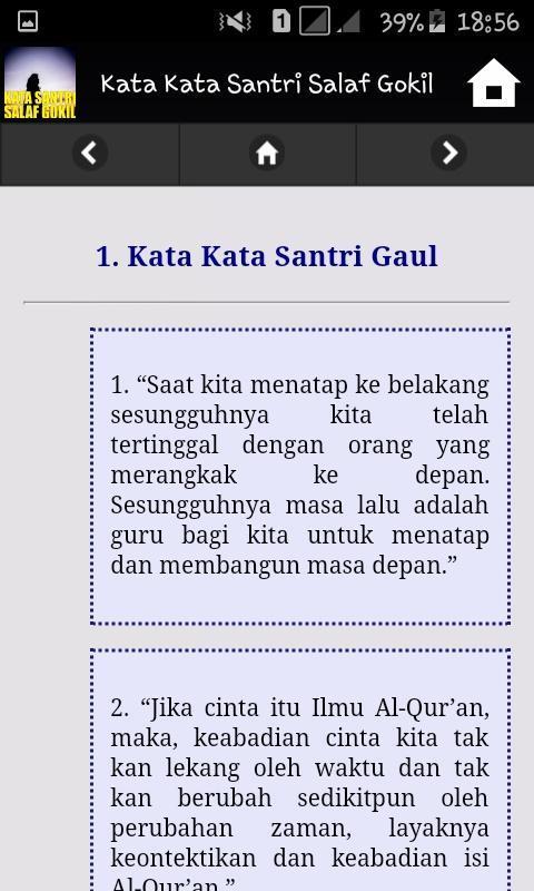Kata Kata Santri Salaf Gokil For Android Apk Download