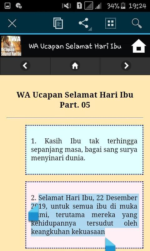 Wa Ucapan Selamat Hari Ibu For Android Apk Download
