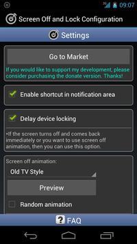 Screen Off and Lock captura de pantalla 2